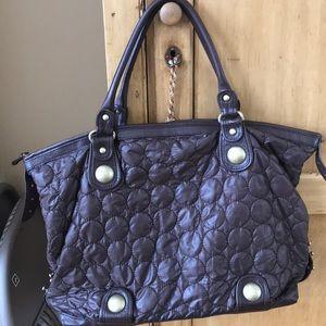 Cynthia Rowley Nylon & Leather Tote